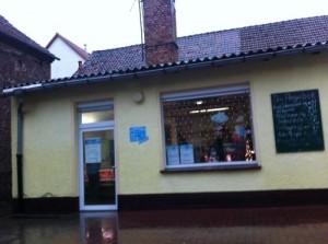 Das Ladengeschäft in Meitzendorf bei Magdeburg