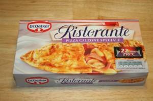 """Der Exot: Die Ristorante """"Calzone Speciale"""" von Dr. Oetker"""
