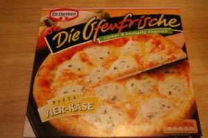Kalorienbombe: Vier-Käse von Dr. Oetker Ofenfrische