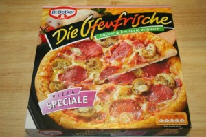 Die Ofenfrische Speciale von Dr. Oetker