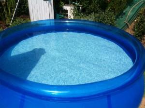Glasklares Poolwasser